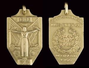 world cup 1966 alan ball medal