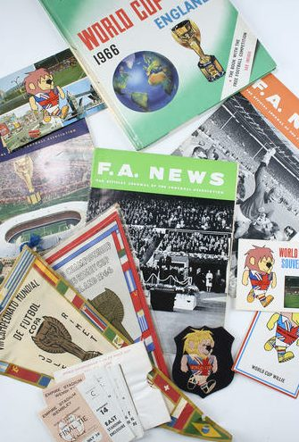 world cup 1966 memorabilia