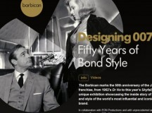 Designing 007 50 Years of Bond Style Exhibition