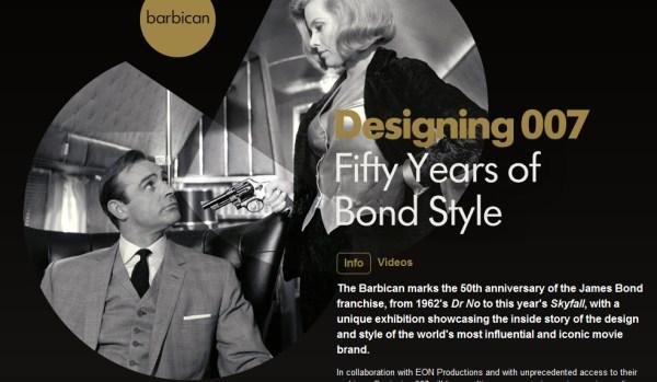 james bond barbican exhibition