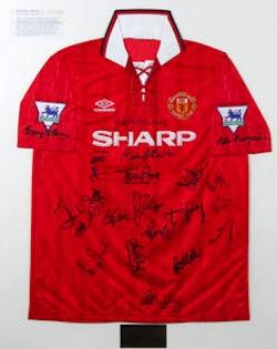 Premier-League-Football-Shirt Auction