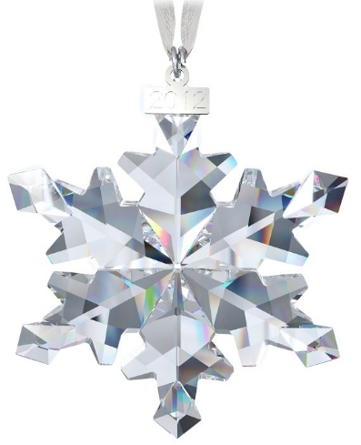 Swarovski Christmas Ornament Annual Edition 2012 & Large ...
