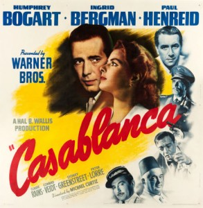 Rare Six Sheet Casablanca Poster Sets Record