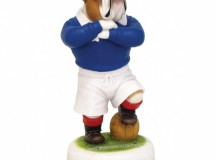 Retro Rangers and Celtic Bulldog Footballers from Robert Harrop