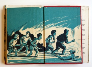 Illustration from End-paper of a 1940s' Famous Five Book