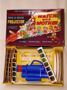 O 1970s Chad Valley projectors