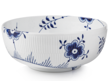 Royal Copenhagen Exclusive Bowl in Blue Fluted Mega
