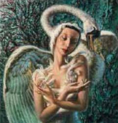 Vladimir Tretchikoff dying swan