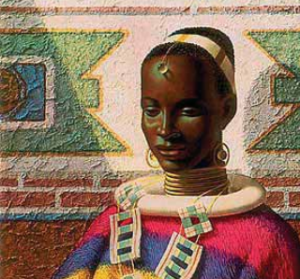 Vladimir Tretchikoff women of ndebele