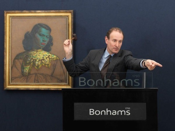 Tretchikoff's 'Chinese Girl' Makes a Million (nearly) at Bonhams