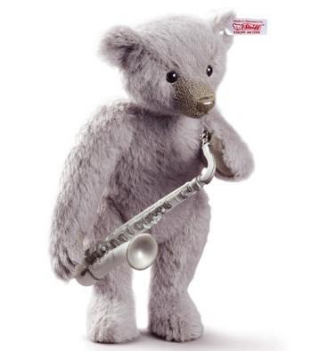 Lladró & Steiff Saxophone Player