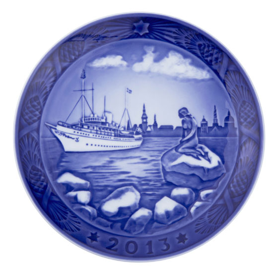 royal copenhagen plate 2013 harbour