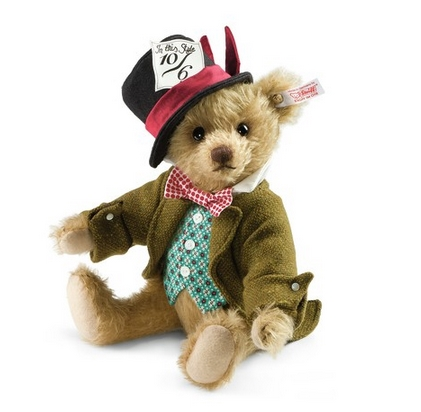 Steiff's Mad Hatter Teddy Bear
