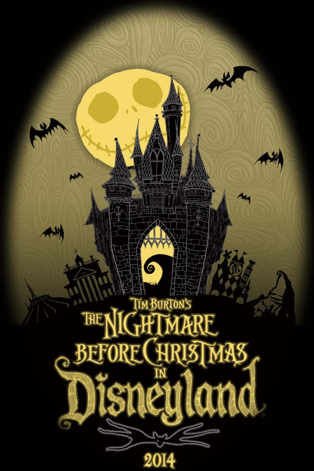 Tim Burton's The Nightmare Before Christmas in Disneyland Trading Event