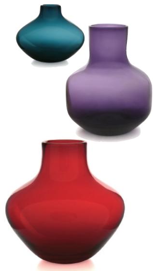Whitefriars Blown Soda Vase examples