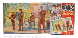 Thomas, Hope & Sankey The Beatles Jigsaw, 1964 vintage, artwork attributed to Walter Howarth. Est £80-£120