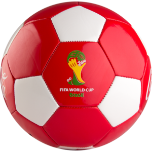 Coca-Cola Brazil World Cup Ball Give-away