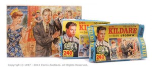 Thomas, Hope & Sankey Doctor Kildare a pair of Jigsaws including Calling Dr. Kildare; together with Crisis Past.  Est £10-£20