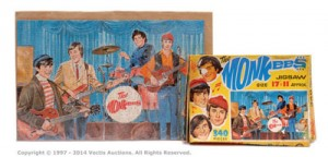 Top Sail The Monkees UK version Jigsaw Puzzle, 1967 vintage, complete, Excellent Plus to Near Mint, together with Fair original box. Est £30-£50