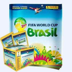 2014 Panini FIFA World Cup Soccer Sticker Box & Album