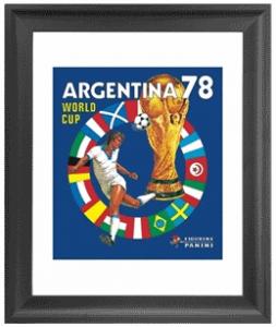 Panini 1978 FIFA World Cup Argentina Framed Print