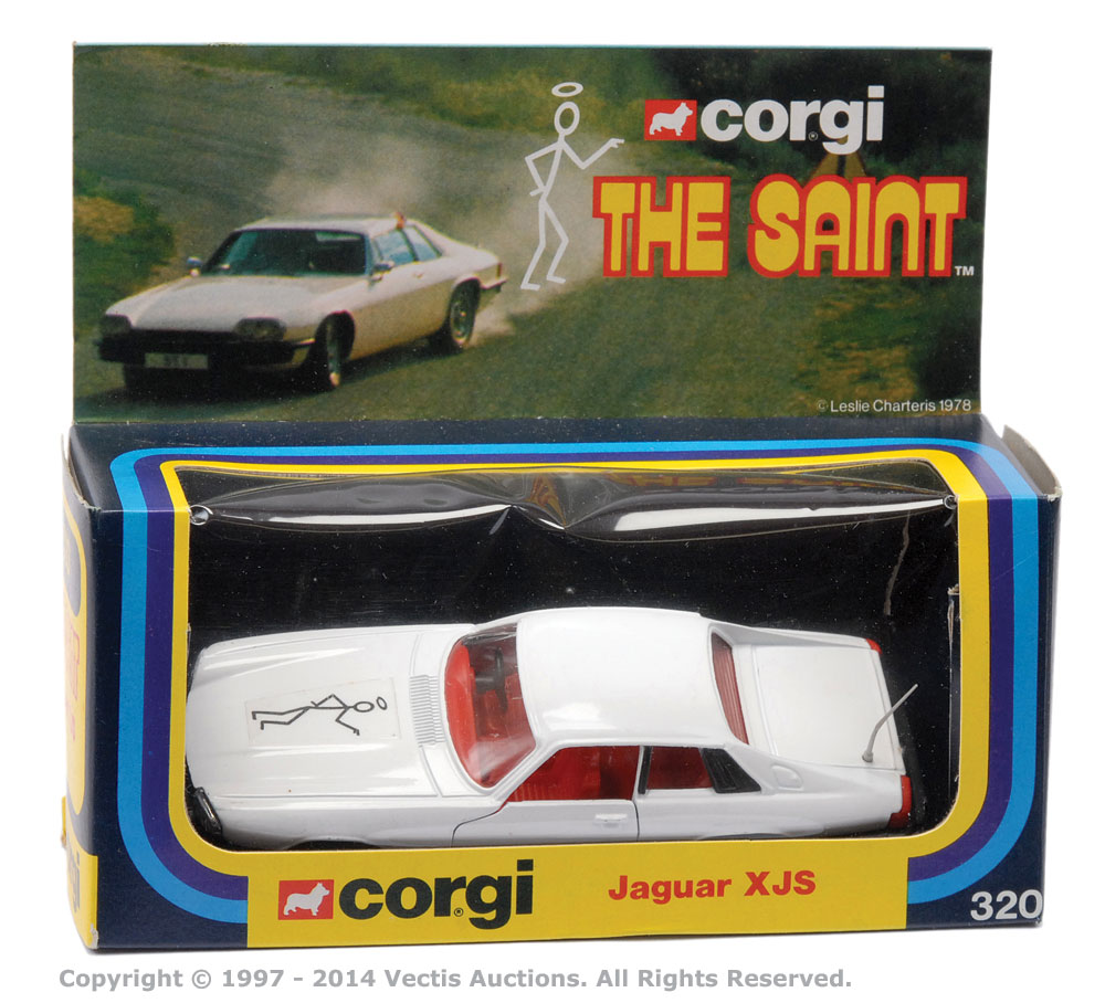 the saint corgi jaguar xjs