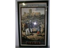 Rare Lithographic L N E R 1931 Railway Poster