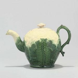 Whieldon Cauliflower teapot