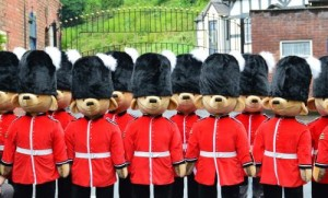 Merrythought Guardsman Teddy Bear Parade