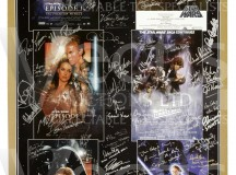 Star Wars Signed Film Poster at Vectis