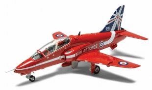 Red Arrows 50th Display Season BAe Hawk Model from Corgi