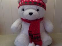Snow Bear the 1986 Harrods Christmas Bear