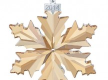 The 2014 Annual Swarovski Collectors Society Ornament