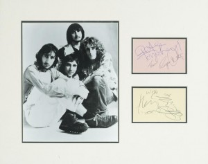 The Who: A Set Of Autographs, Probably Circa 1965