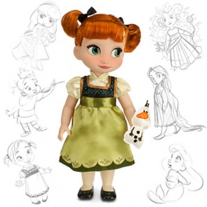 Disney Animators Collection Frozen Anna Doll