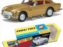 Corgi's James Bond Aston Martin DB5 Goldfinger 50th Anniversary sell out