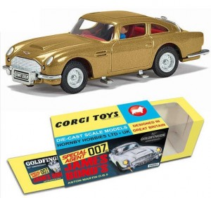 CORGI CC04203 James Bond Goldfinger Aston Martin DB5 gold