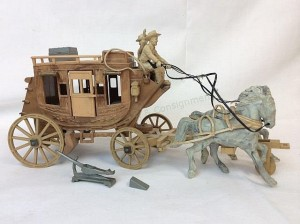 1028 Original Roy Rogers Fix-it Stagecoach