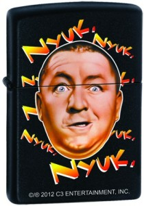 Three Stooges Zippo Lighter Nyuk Nyuk Style