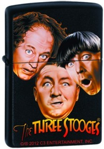 Three Stooges Zippo Lighter Stooges Style