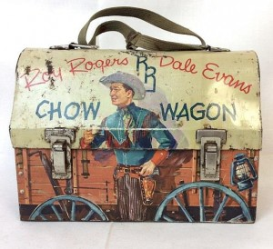 Vintage Roy Rogers And Dale Evans Lunchbox