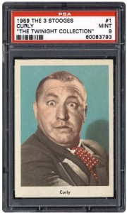 curly three stooges 1959 fleer card