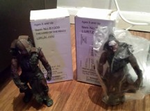 Lord of the Rings Burger King Lurtz TB107 & Uruk-Hai 81009 Action Figures