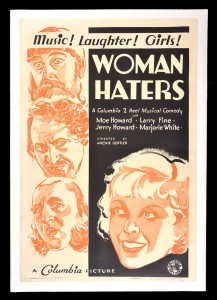 the stooges poster woman haters