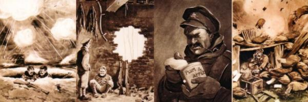 Bruce Bairnsfather drawings