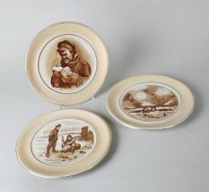 Bruce Bairnsfather plates