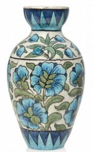 a william de morgan ceramic vase