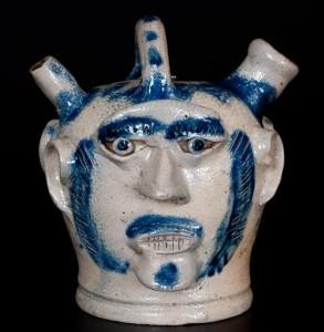 rare face vessel