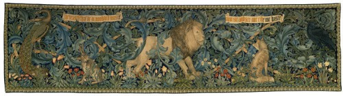 William Morris tapestry The Forest
