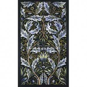 William Morris tile panel